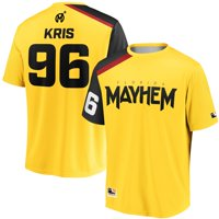 Kris Florida Mayhem Overwatch League Replica Home Jersey - Yellow