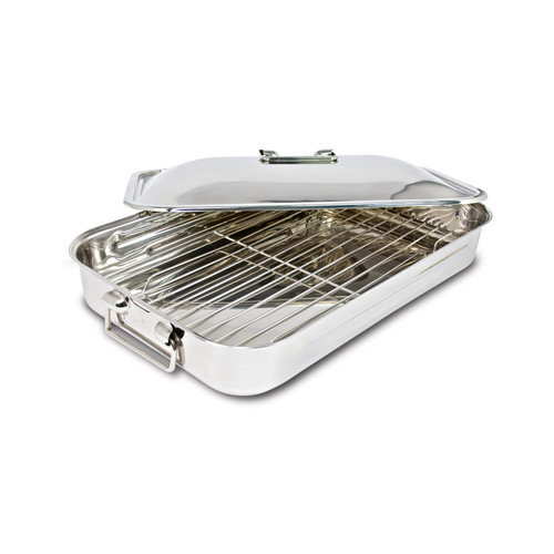 Cuisinox 16'' Covered Roaster with Rack