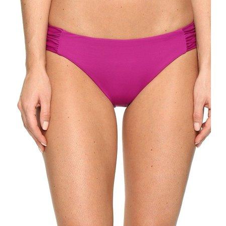 Becca Womens Swimsuit - Becca NEW Purple Women's Size Medium M Solid Bikini Bottom Swimwear
