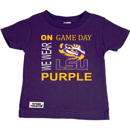LSU Tigers On Game Day Baby/Toddler T-Shirt