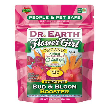 Dr. Earth Organic & Natural MINI's Flower Girl Bud & Bloom Booster, 1 lb
