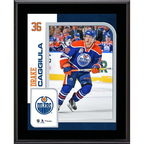 "Drake Caggiula Edmonton Oilers 10.5"" x 13"" Sublimated Player Plaque - No Size"
