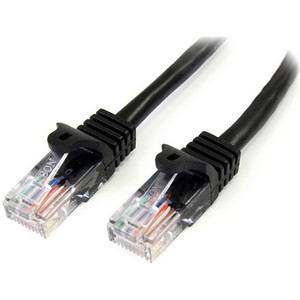 Startech 45PATCH100BK 100Ft Black Cat5 Patch Cable