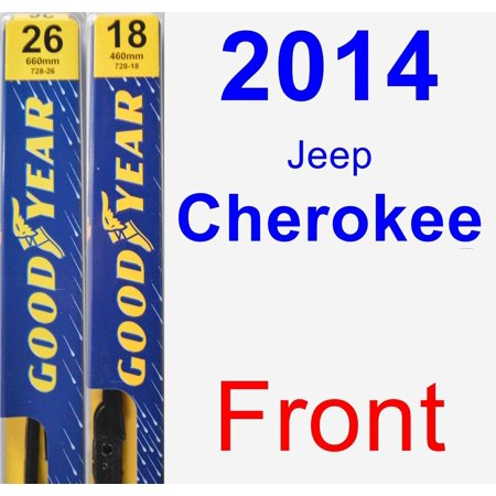 2014 Jeep Cherokee Wiper Blade Set/Kit (Front) (2 Blades) -