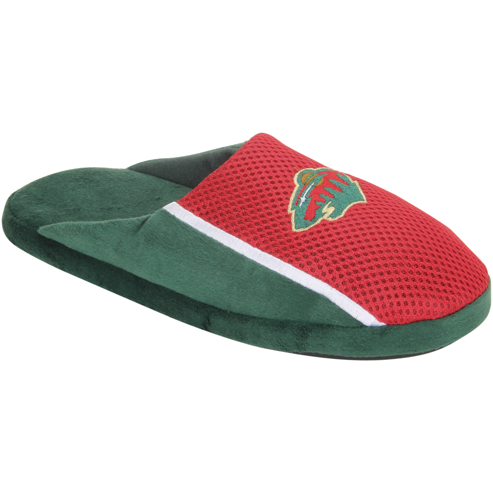 Minnesota Wild Jersey Slide Slippers