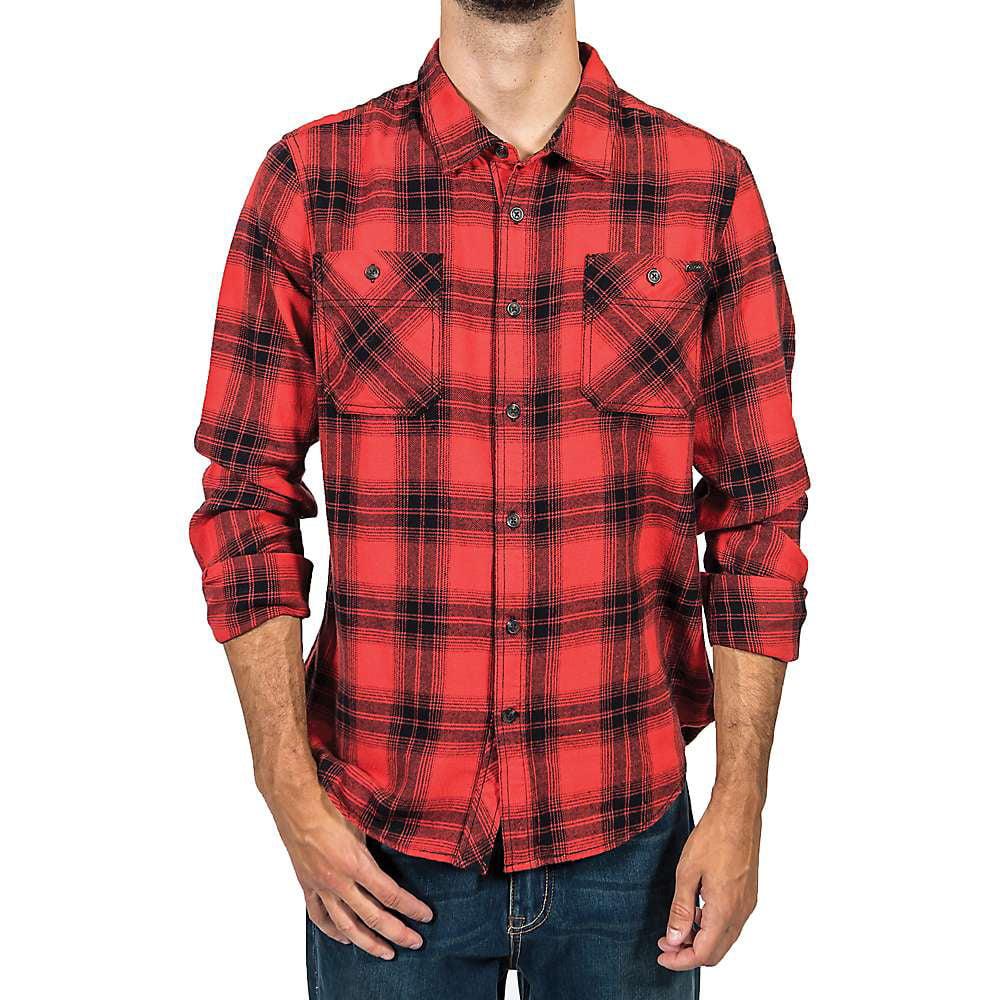 Gramicci Men's General Purpose Flannel Plaid Shirt