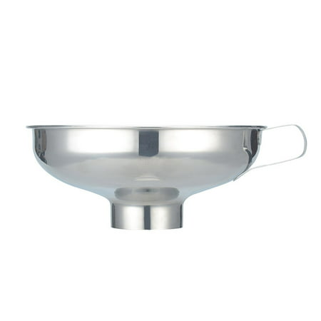 - Stainless Steel Wide Mouth Funnel Canning Hopper Food Pickles Kitchen Gadgets Cooking Tools