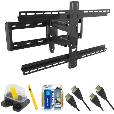 stanley pro series large extension tv mount for size 37 90 tlx ds3105fm with magnetic stud. Black Bedroom Furniture Sets. Home Design Ideas