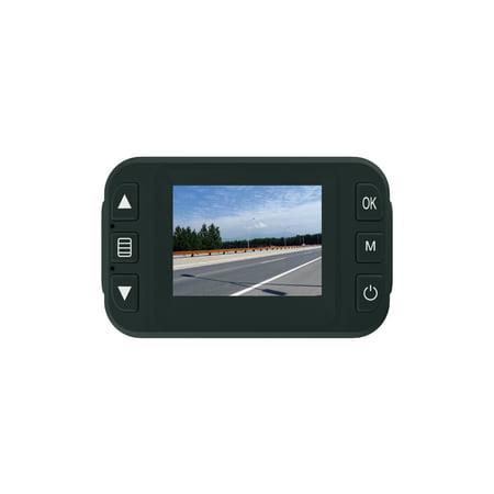 GEKO E100 Full HD 1080P Dash Cam - Car DVR Dashboard Camera Video Recorder with Night Vision, Parking Monitor, G-Sensor, Free 8GB Micro SD Card