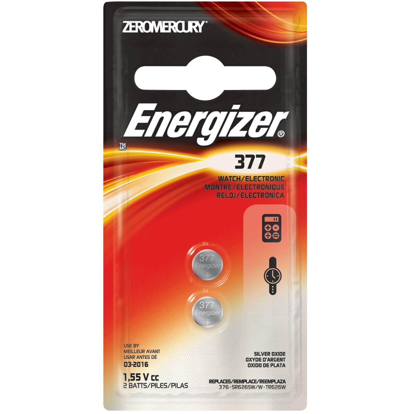 Energizer 376/377, 2pk