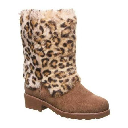 Women's Bearpaw Regina Mid Calf Fur Boot