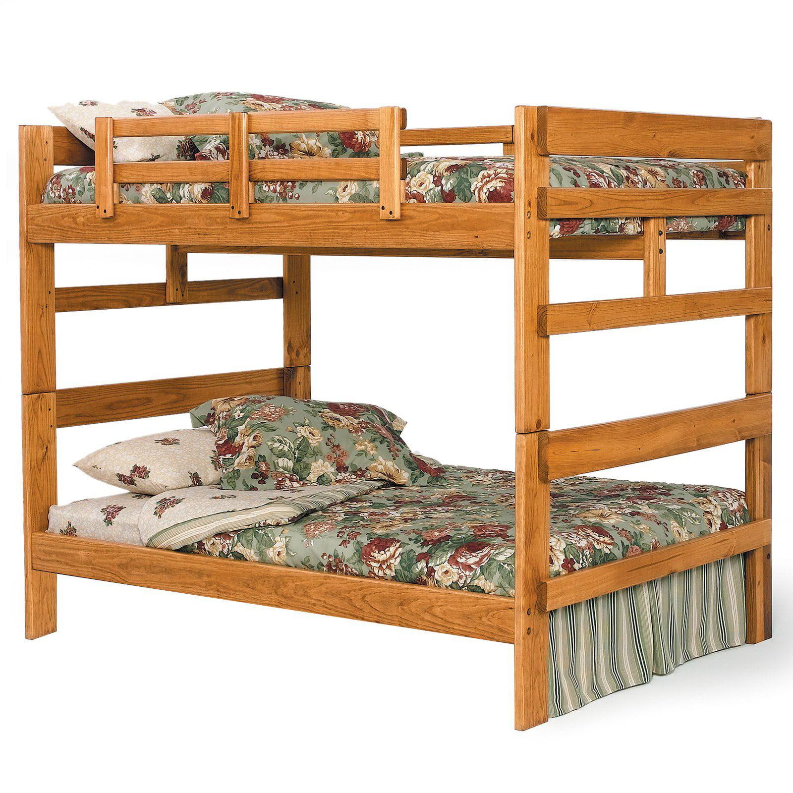 Woodcrest Heartland Full over Full Bunk Bed