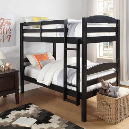 4dc578437d26 Better Homes and Gardens Leighton Twin Over Twin Wood Bunk Bed ...