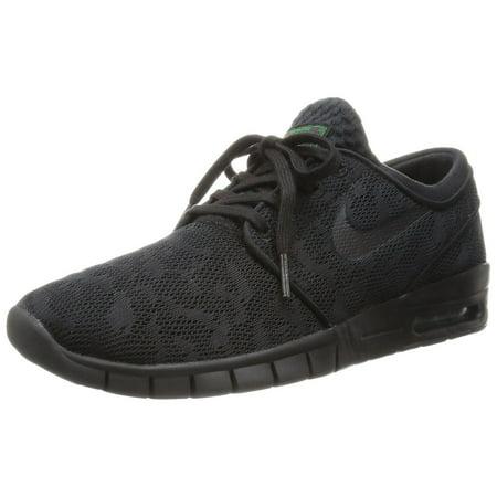 na sprzedaż online ceny odprawy stabilna jakość Nike Stefan Janoski Max Men's Skateboarding Shoes Black / Black-Pine Green