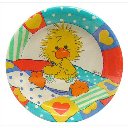Little Suzy's Zoo Small Paper Plates (18ct) (Zoo Plates)