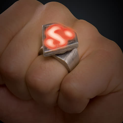 Superman Ring Adult Halloween Accessory