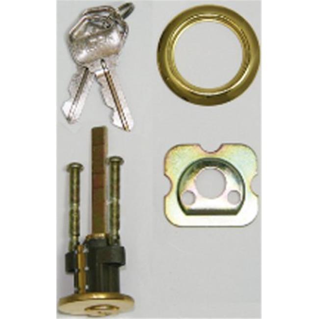 World & Main 16907 Deadlock Replacement Rim Cylinder for Kwikset KW1 Locks - image 1 de 1