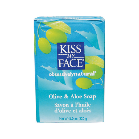 Kiss My Face Olive Oil Bar Soap, Olive & Aloe, 8
