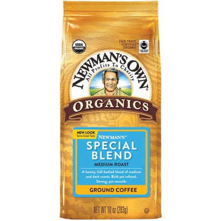Newman's Own Organics Newman's Special Blend Medium Roast Ground Coffee, 10
