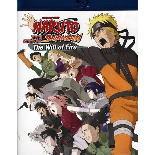 Naruto Shippuden - The Movie: The Will Of Fire (Blu-ray) (Anamorphic Widescreen)