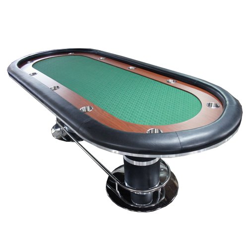 IDS Online Corp 96'' Players Texas Hold'em Poker Table by