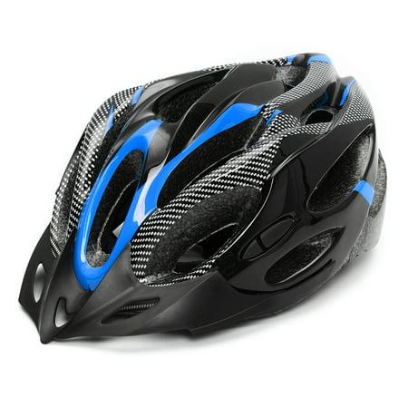 Safety Helmet Adjustable Bicycle Bike Helmet Cycling Road Carbon Visor Mountain for Adult Mens Women Boys Unisex