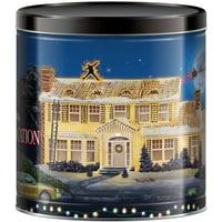Signature Brands Christmas Popcorn Tin, 24 Oz.