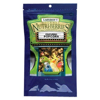 Lafeber's Popcorn Nutri-Berries Parrot Treat,