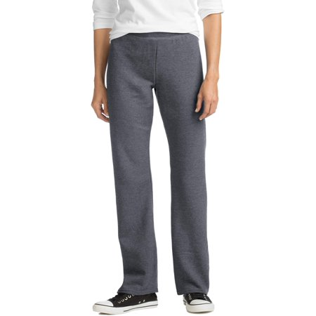 Hanes ComfortSoft Women's Open Bottom Leg Fleece Sweatpant ()