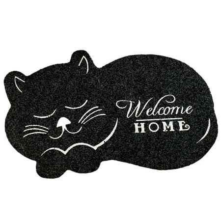 Cute Cartoon Animal Pattern Nonslip Door Mat for Hallway Shoe Cabinet Side - image 5 of 7