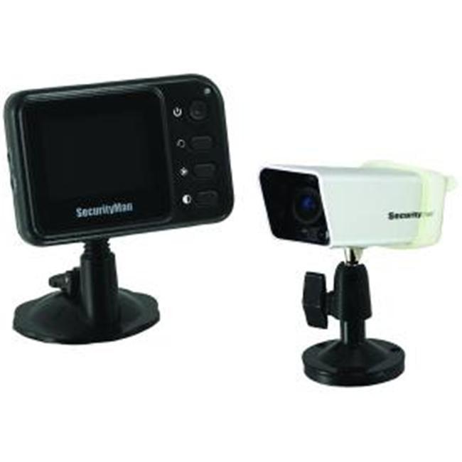 SecurityMan PalmCam Weatherproof Portable Wireless Rearvi...