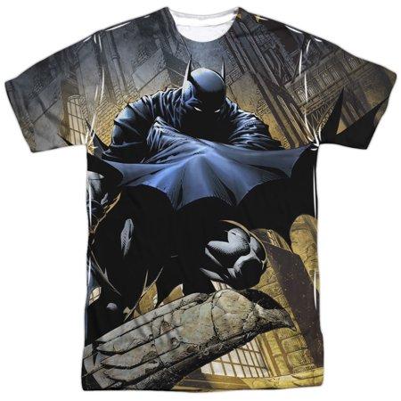 Batman In Shadow Mens Sublimation Shirt