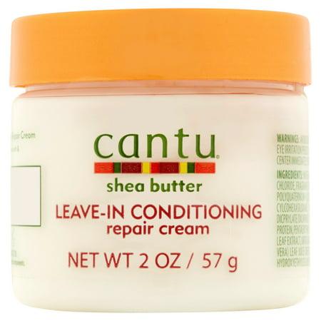 - Cantu Shea Butter Leave-in Conditioning Repair Cream, 2 oz
