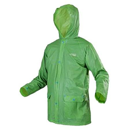Green Raincoat - Coleman 2000014627 Rain Jacket, Small To Medium, Youth, Green