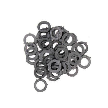 Wideskall® Garden Hose Heavy Duty Rubber Washer (Pack of 100) ()