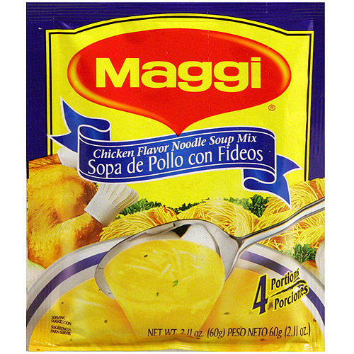 Maggi Chicken Noodle Soup Mix, 2.11 oz (Pack of 12)