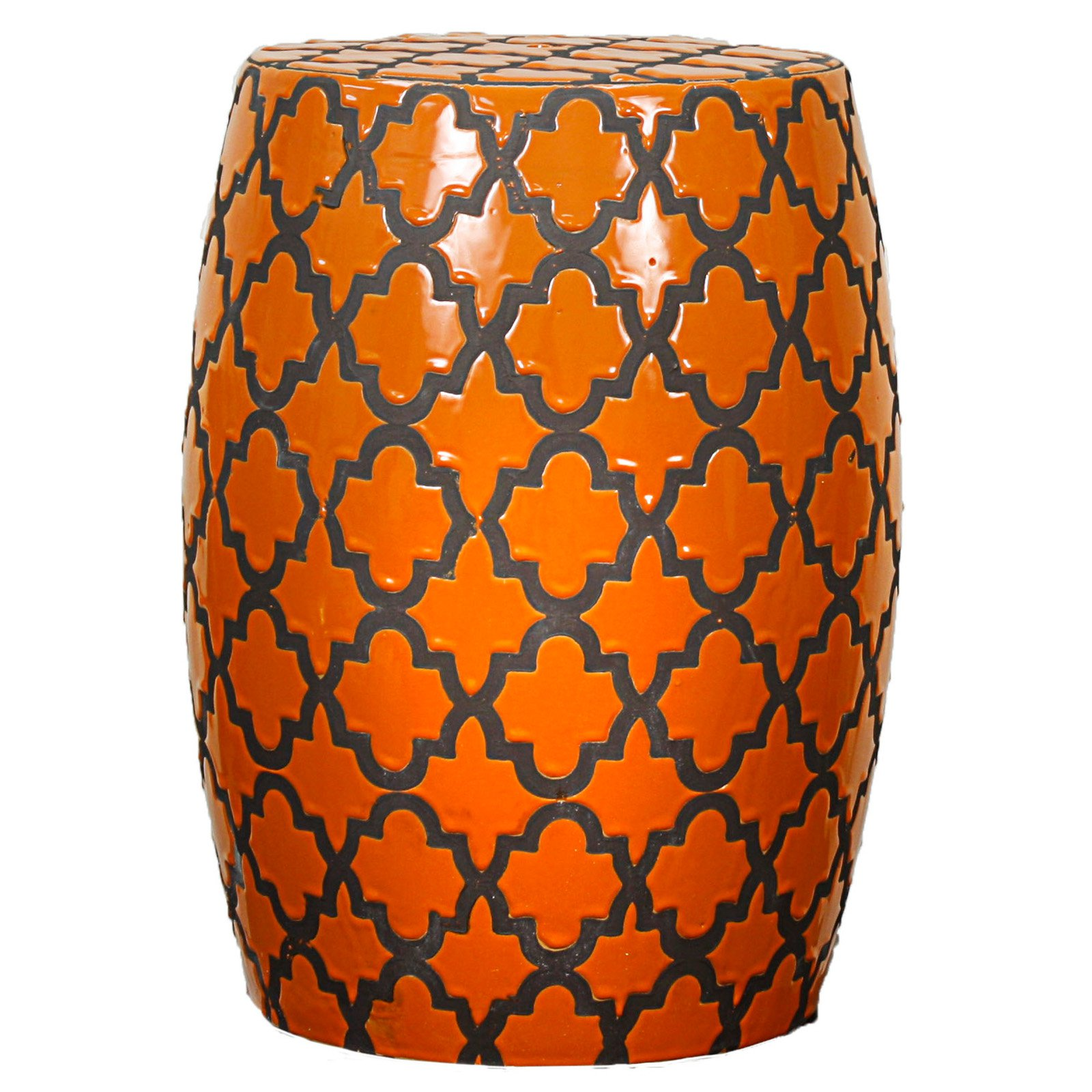 New Pacific Direct Inc. Quatrefoil Garden Stool