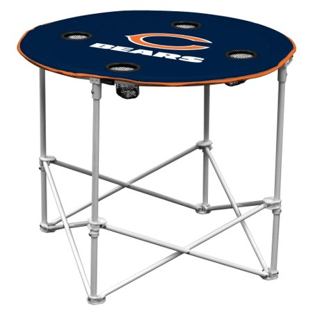Chicago Bears Round Table (Chicago Bears Tailgating Table)