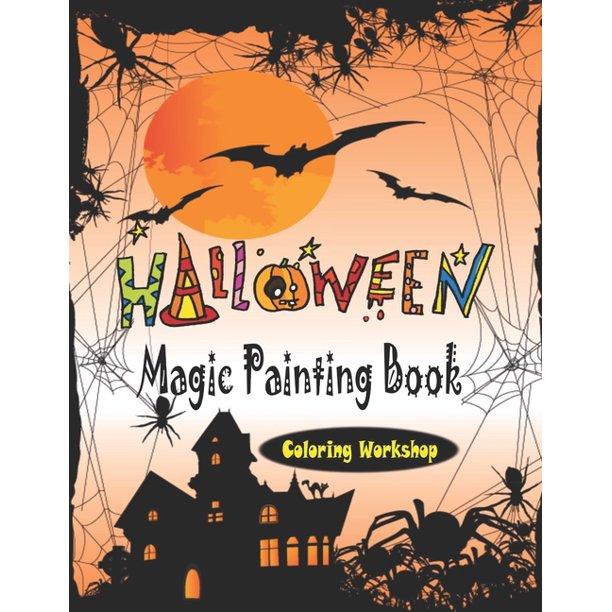 Halloween Color-by-Number | Actividades de halloween, Colorear por ... | 612x612