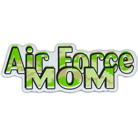 Military Car Magnets: Air Force Mom (Camouflage) | United States Airforce