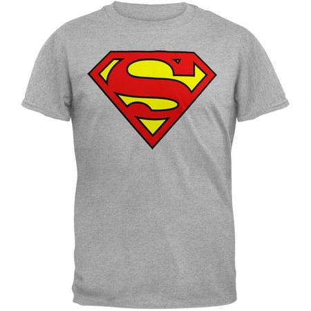 Superman - Shield Logo Heather