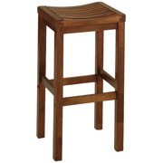 24 inch Cottage Oak Bar Stool by Overstock
