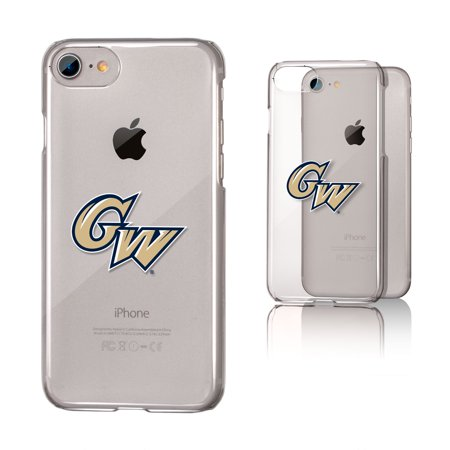 GW George Washington Colonials Insignia Clear Case for iPhone 8 / 7 / 6