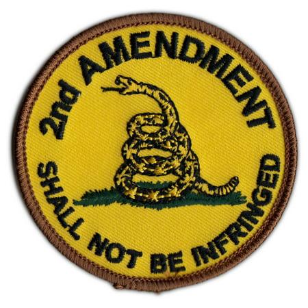 Motorcycle Biker Jacket/Vest Patch - Gadsden Flag Patch Don't Tread On Me - 3