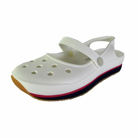 Crocs Womens Retro Mary Jane Slip On Shoes - Walmart.com
