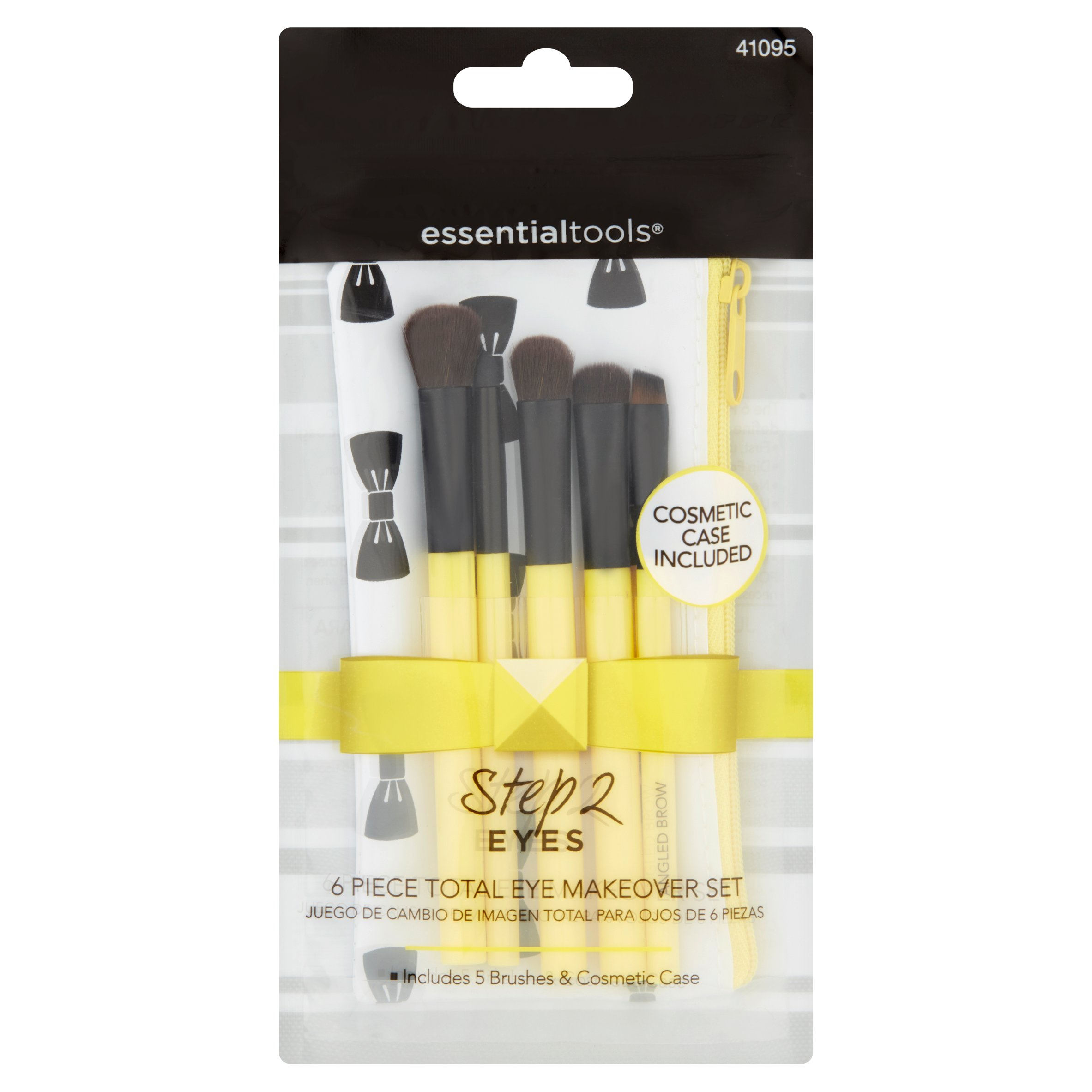 (2 Pack) Essential Tools Step 2 Eyes Piece Total Makeover Set, 6 count