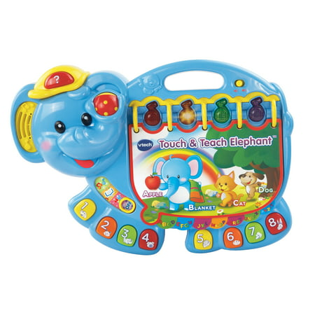VTech, Touch & Teach Elephant, ABC Toy for