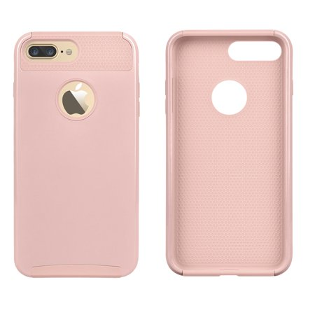 low priced 7d348 e812c Apple iPhone 8 Plus Case, Case For iPhone 8 Plus, Njjex Slim Dual Layer  Protective Case Fit for Apple iPhone 8 Plus 5.5