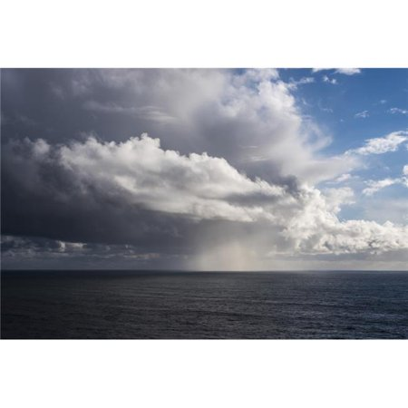 Posterazzi DPI12276166 Rain Falls Off The Coast - Manzanita Oregon United States of America Poster Print - 18 x 12 in. - image 1 de 1