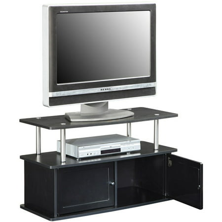 "Designs2Go"" TV Stand with Two Cabinets, for TVs up to 36"" by Convenience Concepts"